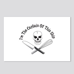Captain of This Ship Postcards (Package of 8)
