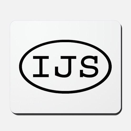 IJS Oval Mousepad