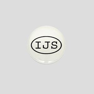 IJS Oval Mini Button
