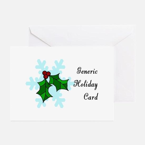 Generic BLANK inside Greeting Cards (Package of Gr