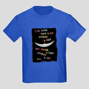 Cheshire Grin III Kids Dark T-Shirt