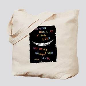 Cheshire Grin III Tote Bag