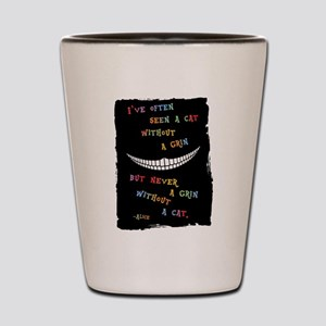 Cheshire Grin III Shot Glass