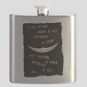 Cheshire Grin III Flask