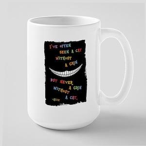 Cheshire Grin III Large Mug