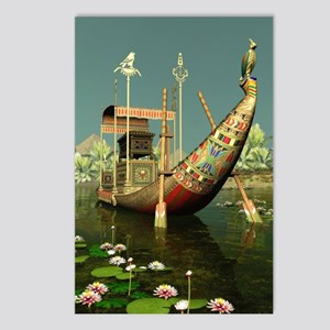 Ancient Egyptian Barge Postcards (Package of 8)