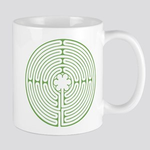 Green Chartres Labyrinth Mug