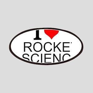 I Love Rocket Science Patch