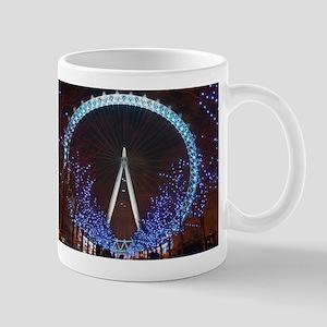 London Eye at Night Mugs