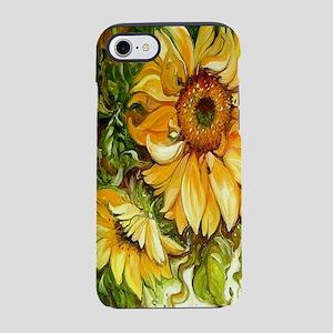 Pretty Sunflowers iPhone 8/7 Tough Case