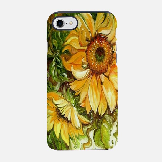 Pretty Sunflowers iPhone 8/7 Tough Case