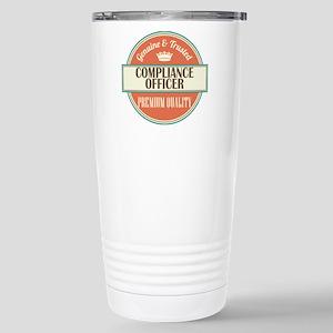 compliance officer vint Stainless Steel Travel Mug