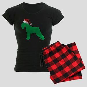 Christmas Schnauzer Pajamas