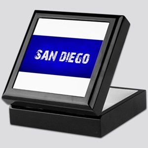 SAN DIEGO blue Keepsake Box