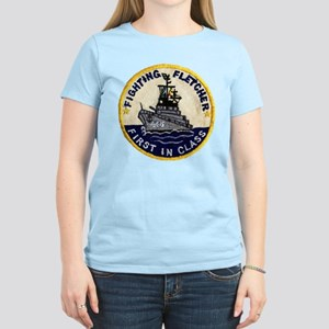 USS FLETCHER Women's Light T-Shirt