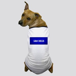 SAN DIEGO blue Dog T-Shirt
