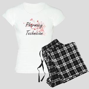 Pharmacy Technician Artisti Women's Light Pajamas