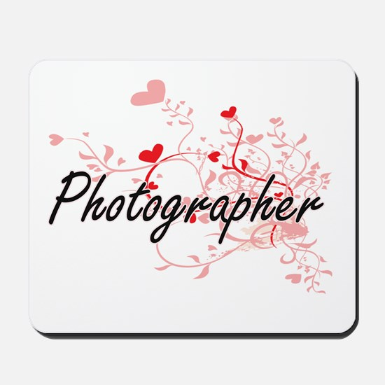 Photographer Artistic Job Design with He Mousepad