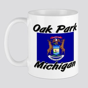 Oak Park Michigan Mug