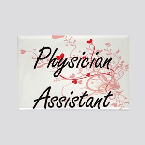 Physician Assistant Artistic Job Design wi Magnets