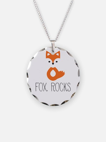 Unique Fox Necklace