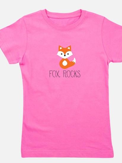 Cute Baby fox Girl's Tee