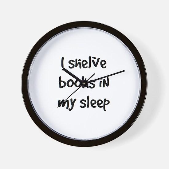 shelve books Wall Clock