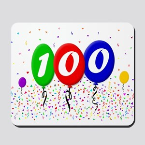 100th Birthday Mousepad
