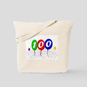 100th Birthday Tote Bag