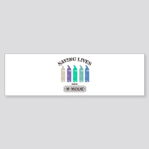 Saving Lives MMode Pastels Sticker (Bumper)