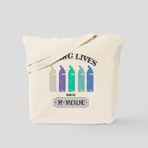 Saving Lives MMode Pastels Tote Bag