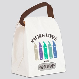 Saving Lives MMode Pastels Canvas Lunch Bag