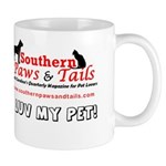 Southern Paws & Tails Mug (white)