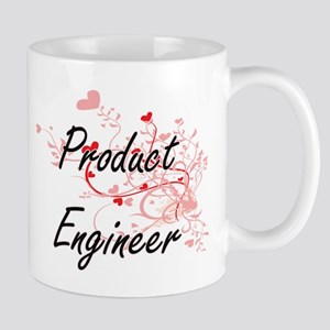 Product Engineer Artistic Job Design with Hea Mugs