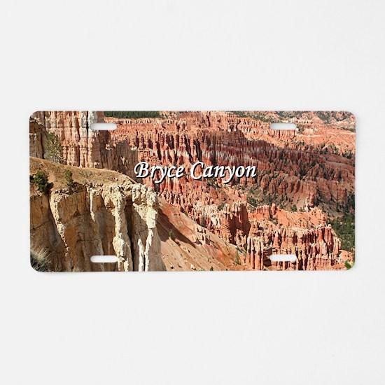 Bryce Canyon, Utah 21 (capt Aluminum License Plate