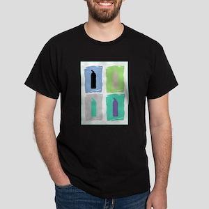 Gellin' Pastels No Words Dark T-Shirt
