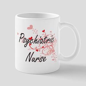 Psychiatric Nurse Artistic Job Design with He Mugs