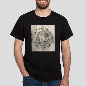 West Virginia Seal SOS Office 1882 T-Shirt
