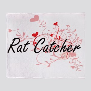 Rat Catcher Artistic Job Design with Throw Blanket