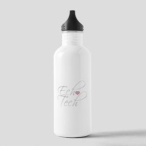 Cursive Ech(Heart) Gra Stainless Water Bottle 1.0L