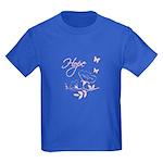 Breast Cancer Hope Kids Dark T-Shirt