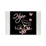 Breast Cancer Hope Rectangle Magnet (100 pack)