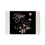 Breast Cancer Hope Rectangle Magnet (10 pack)
