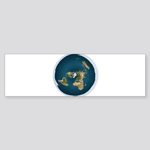 Flat Earth 1 Bumper Sticker