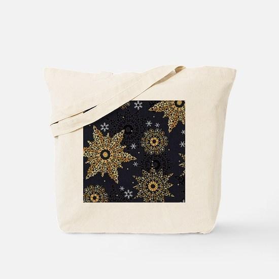 Funny Snowflake Tote Bag