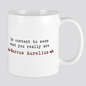 M. Aurelius Content Quote Mugs
