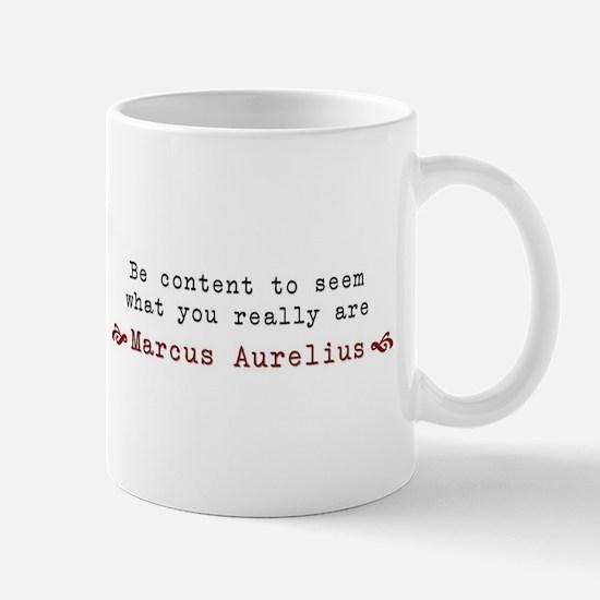 M. Aurelius Content Quote Mugs