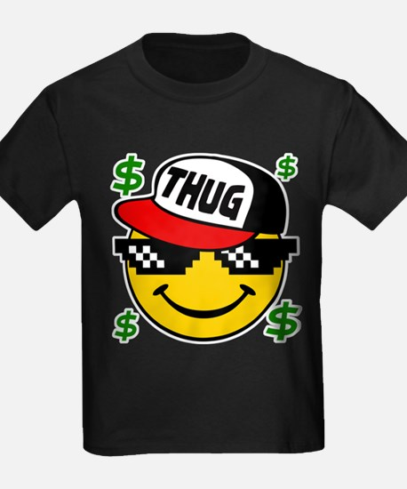Smiley Thug Smilie Thug Emoticon T-Shirt