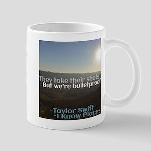 I Know Places Taylor Swift Lyric Edit Mugs