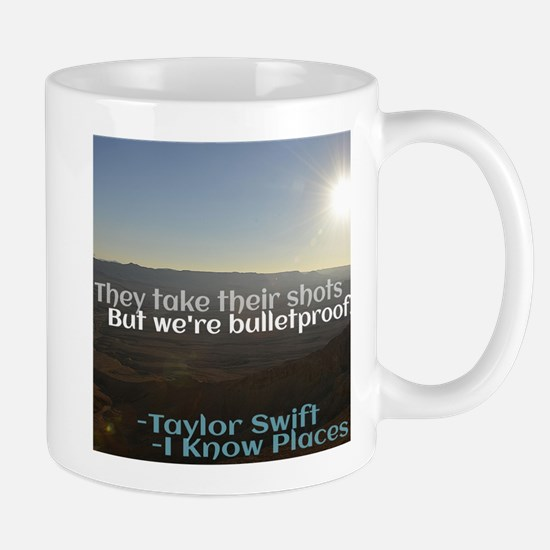I Know Places Taylor Swift Lyric Edit Mugs